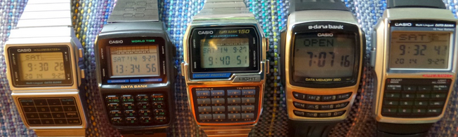 Casio Data Bank Watches