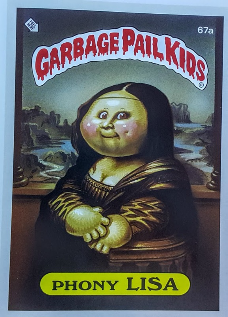 garbage pail kids poptechmotive