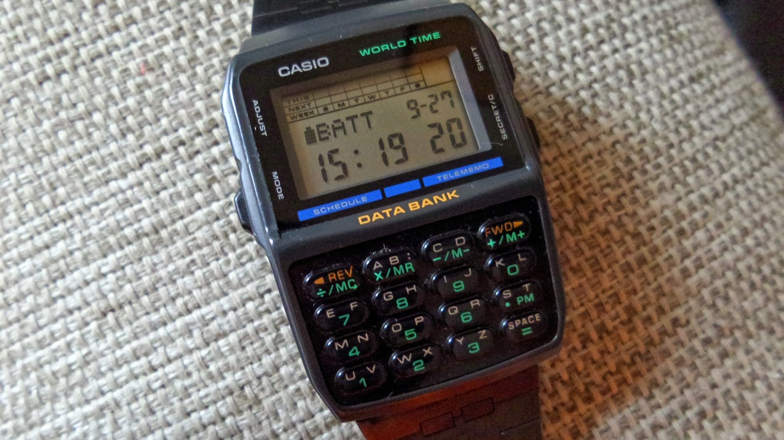Casio Data Bank Databank